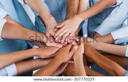 Human Hand. - stock photo