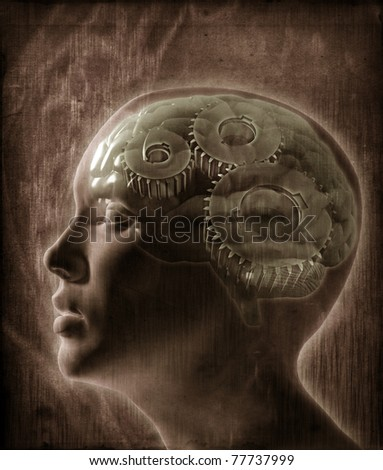 Human intelligence concept - stock photo