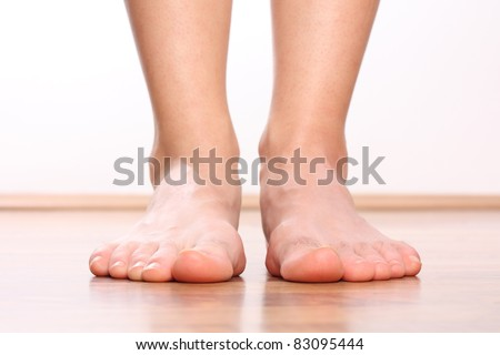 Human legs - stock photo