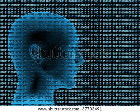 Human profile from a binary code