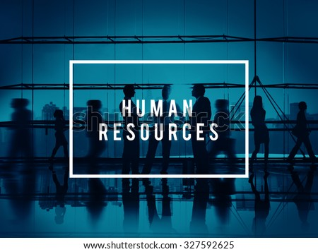 Human Resources Hiring Corporate Employment Concept - stock photo