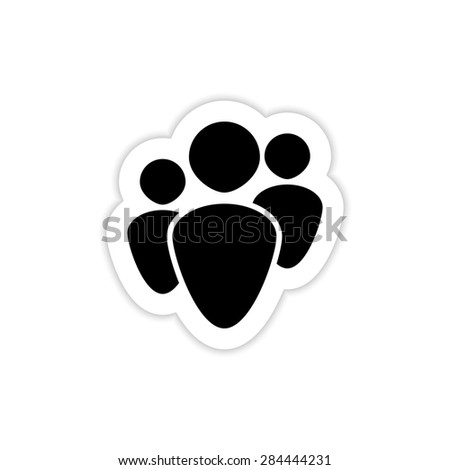 Human Resources Icons on a white background with shadow  - stock photo