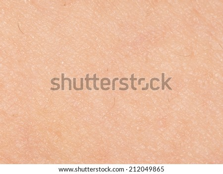 human skin as a background. close-up - stock photo