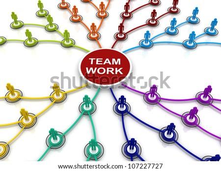 Human teamwork organization connection chart bubble stock human teamwork organization connection chart bubble diagram 3d render ccuart Images