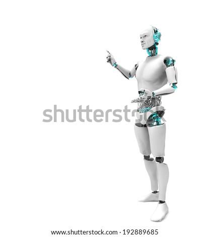 Humanoid - stock photo