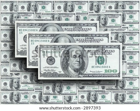 Hundred dollar notes design