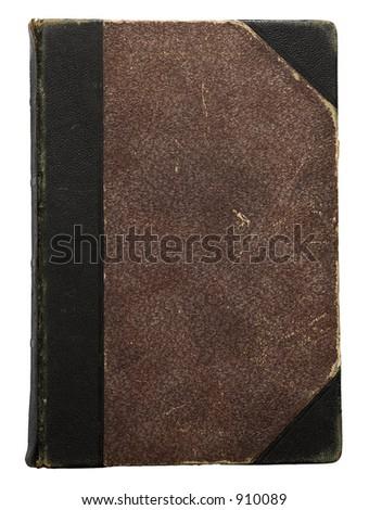 Hundred years old hardcover folio - stock photo