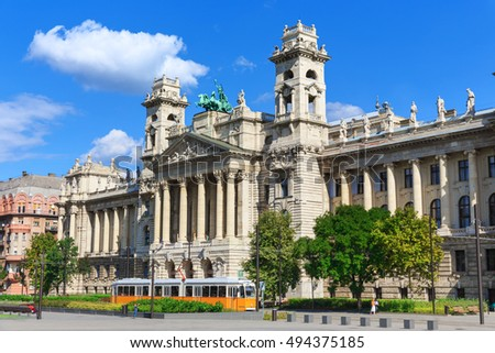 Hungary. Budapest. Ethnographic Museum building