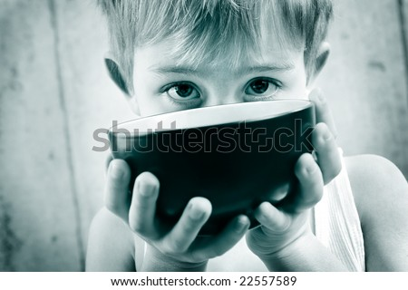 Hunger - stock photo