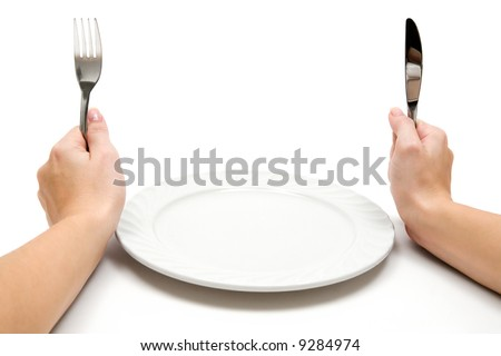 Hungry - stock photo
