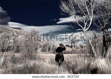 Hunting - stock photo