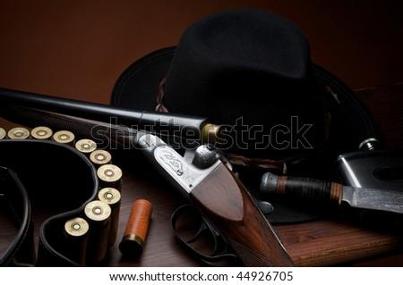 hunting - stock photo