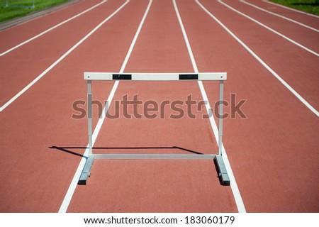 Hurdle - stock photo