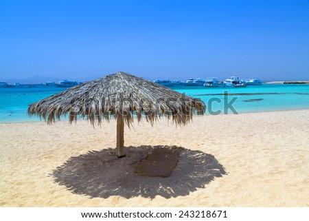 Hurghada Giftun Island, Egypt - stock photo