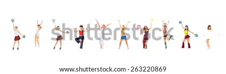 Hurray to Us United we Act  - stock photo