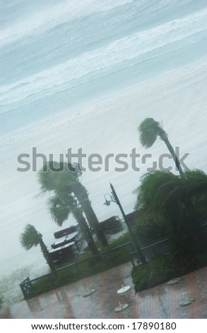 Hurricane - stock photo