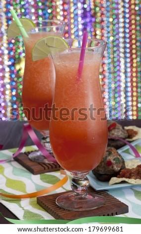 Hurricane Drinks - stock photo