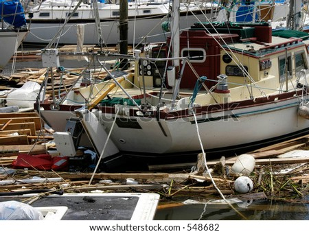 Hurricane Katrina 36 - stock photo