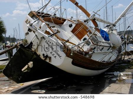 Hurricane Katrina 23 - stock photo