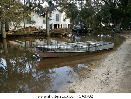 Hurricane Katrina 21 - stock photo