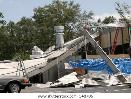 Hurricane Katrina 17 - stock photo
