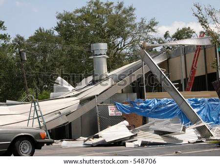 Hurricane Katrina 17 - stock photo