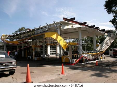 Hurricane Katrina 11 - stock photo