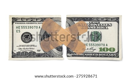 Hurting for money. - stock photo