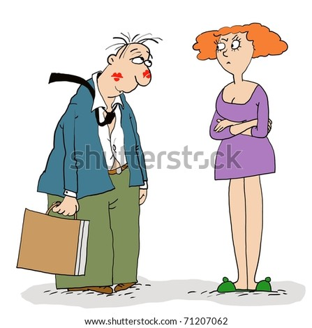 Husband and wife - stock photo