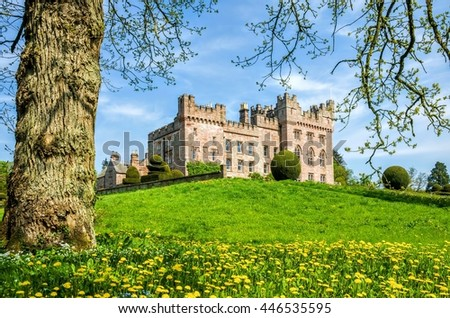 Hutton in the Forest, Cumbria, England - stock photo