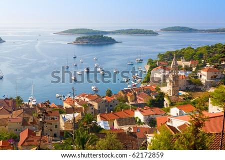 Hvar, Croatia - stock photo