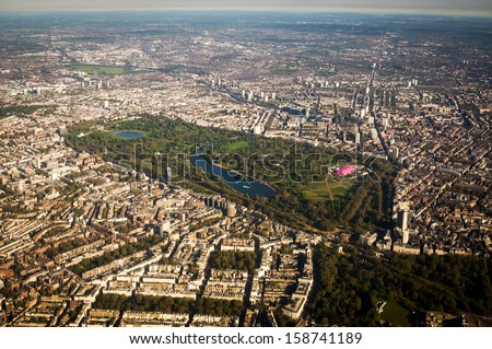 Hyde Park, London - stock photo
