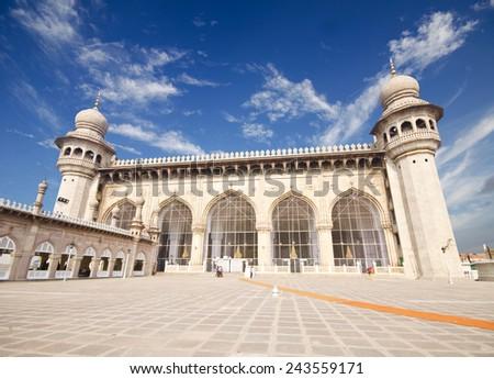 Hyderabad Mecca Masjid  - stock photo