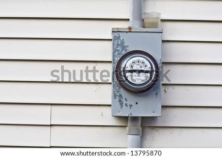Hydro Meter - stock photo