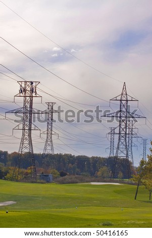 hydro power lines