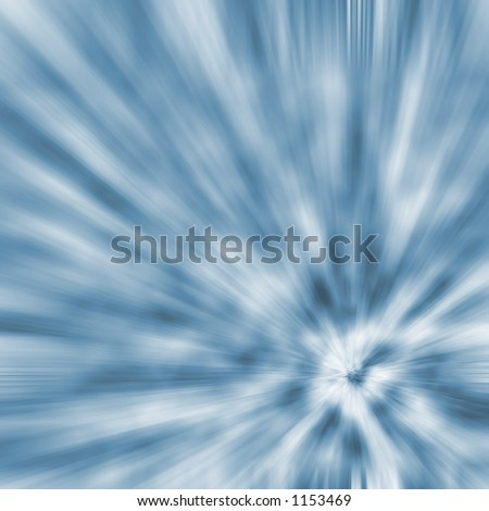hyperspeed effect - stock photo