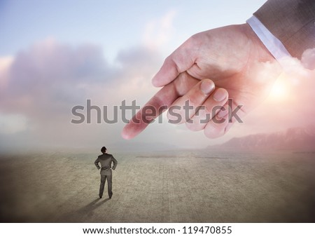 I Choose You - People in business concept - stock photo