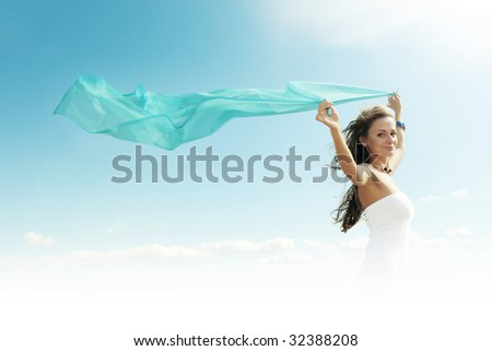 i fly away - stock photo