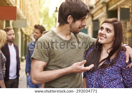 I have to tell you something one to one - stock photo