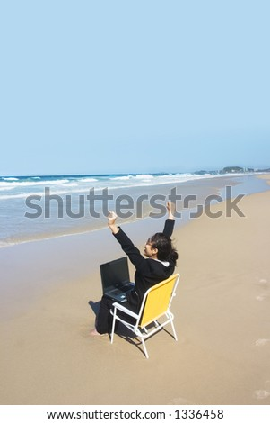 I love my Job !! - stock photo