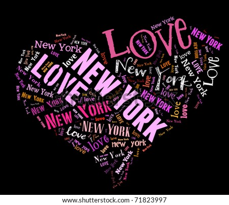 Stock photo i love new york 71823997