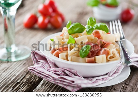 I love Pasta! - stock photo