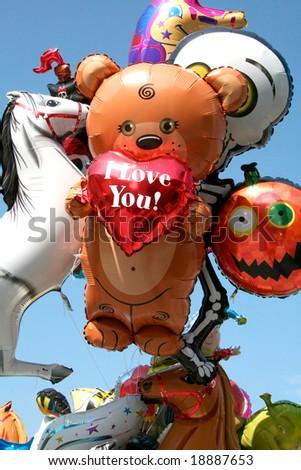 I love you - bear - stock photo