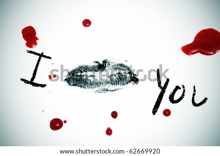 I Love You Wallpaper In Blood : Vampire blood Stock Photos, Images, & Pictures Shutterstock