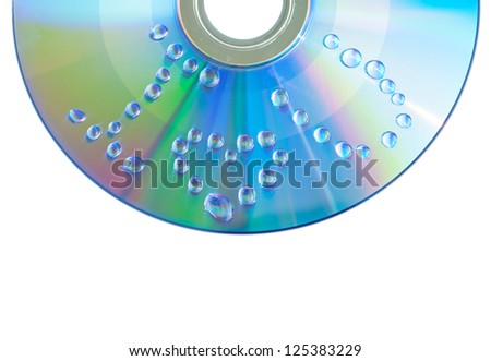 I Love You of water drop on CD