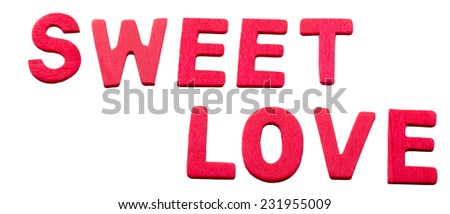 I Love You - sign / card / design for relationships, romance, love and Valentines day - stock photo