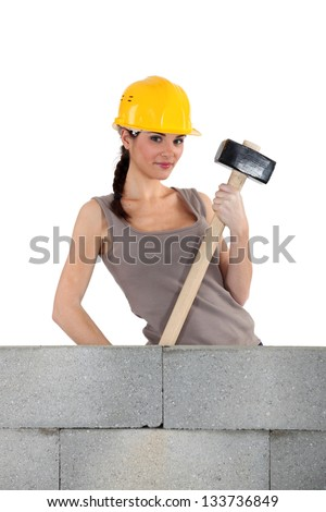 I'm about to break it down - stock photo