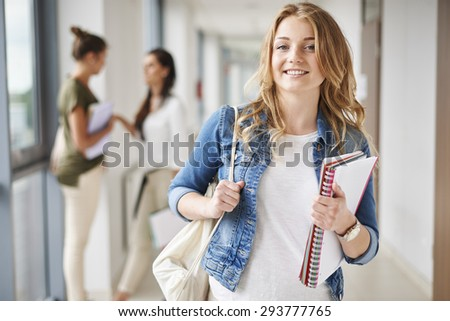 I'm prepared for exam very well - stock photo