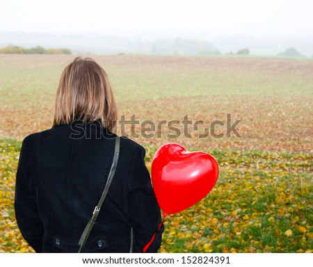 I Miss You - stock photo