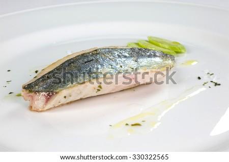 I put on the table sushi - stock photo